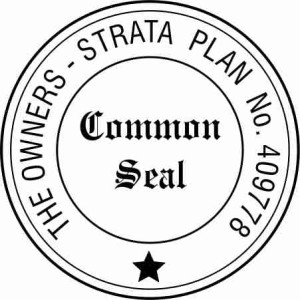 Rubber stamp manufacturer pg stamps bankstown for Common seal template