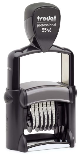 METAL NUMBERER SELF INKING  6 BANDS $74.50 incl. gst