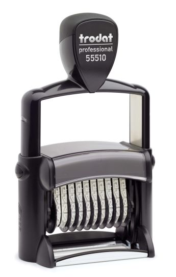 METAL NUMBERER SELF INKING 10 BANDS $100.05 incl gst